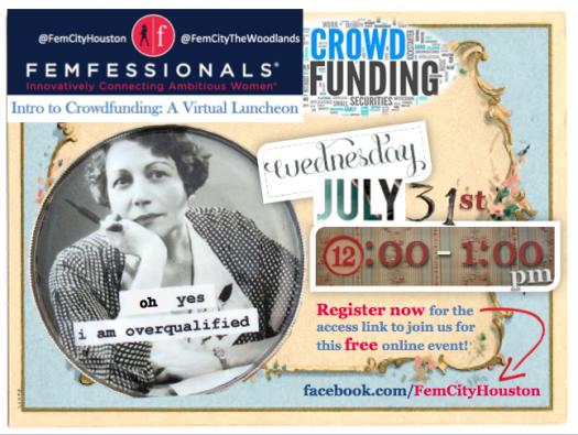 image: flyer-femfessionals-virtual-luncheon-crowdfunding-goodspero