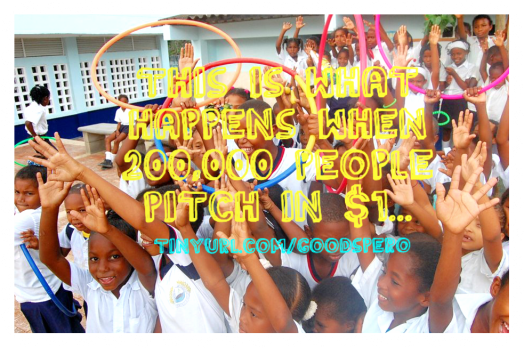 Image: Goodspero Indiegogo Crowdfund Campaign - Kids in Ararca Colombia
