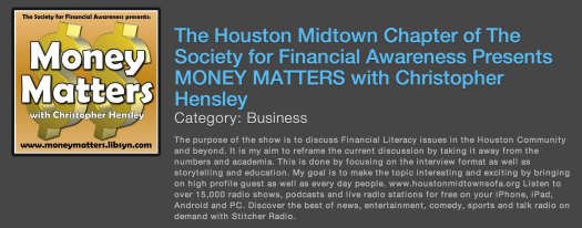 image: money matters - houston