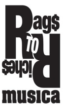 image: rags to riches musica logo