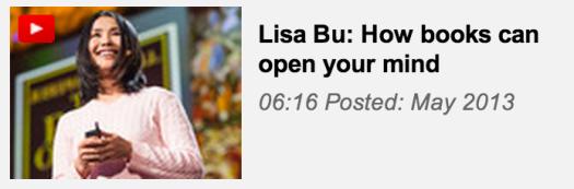 image: lisa bu - ted talk